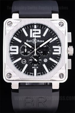 Bell & Ross Carbon High Quality Men's Quartz Replica Watches Be3431