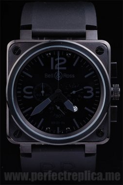 Bell & Ross Br-01-94 High Quality Battery 44*44MM Replica Watches 3468
