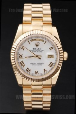 Rolex Daydate Low Prices Men's Sapphire Crystal Replica Watches R4803