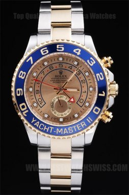 Rolex Yachtmaster II Best Value Men's Sapphire Crystal Replica Watches R234