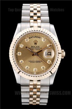 Rolex Daydate High Technology Men's Automatic Replica Watches R4807