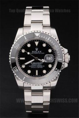 Rolex Submariner Top Quality Men's Sapphire Crystal Replica Watches R56
