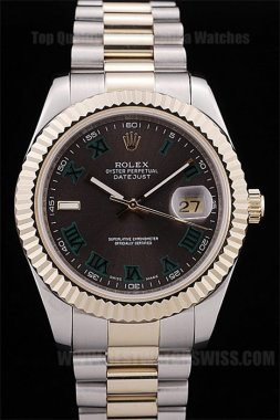 Rolex Datejust Cheapest Men's sapphire crystal Replica Watches R4674