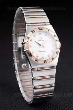 Omega Constellation 2019 Ladies' Quartz Replica Watches Om4478