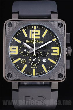 Bell & Ross Carbon Offer Battery 50*44MM Replica Watches 3435