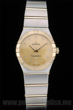 Omega Constellation Well-Known Battery 30*27MM Replica Watches 4001