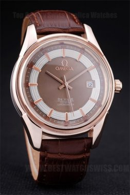 Omega Deville Cheapest Men's Automatic Replica Watches Om4383
