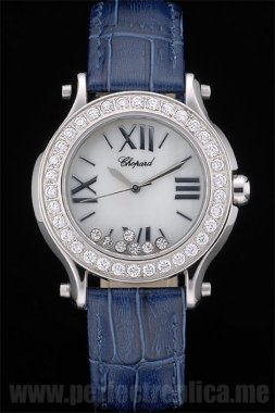 Chopard Perfect Sapphire Crystal 44*35MM Replica Watches 80275
