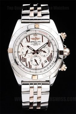 Breitling Chronomat Great Men's Stainless Steel Replica Watches Br3514