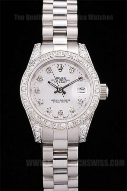 Rolex Datejust AAA+ Ladies' Automatic Replica Watches R4670