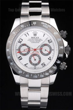 Rolex Daytona Top Brand Men's Stainless Steel Replica Watches R4838