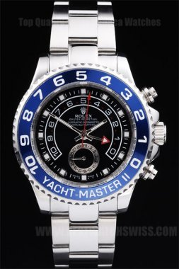 Rolex Yachtmaster II Luxury Men's Sapphire Crystal Replica Watches R241