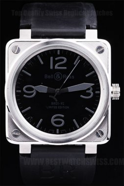 Bell & Ross Carbon Top Quality Men's Automatic Replica Watches Be3453