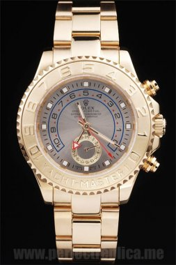 Rolex Yachtmaster II Luxury Sapphire Crystal 48*42MM Replica Watches rl235