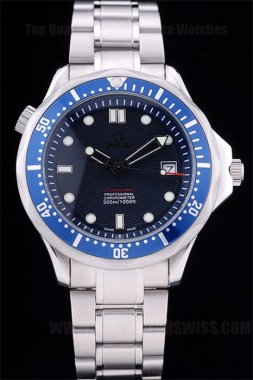 Omega Seamaster 65% Off Men's Sapphire Crystal Replica Watches Om4439