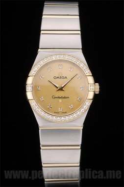 Omega Constellation Perfect gift Battery 30*27MM Replica Watches 4481
