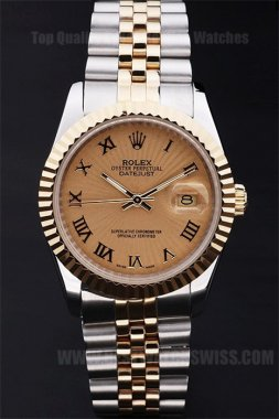 Rolex Datejust Well-Known Men's stainless steel Replica Watches R4757