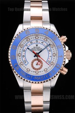 Rolex Yachtmaster II Hot Sale Men's 18k rose gold Replica Watches R245