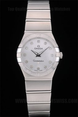 Omega Constellation Best Designer Ladies' Sapphire Crystal Replica Watches Om80290