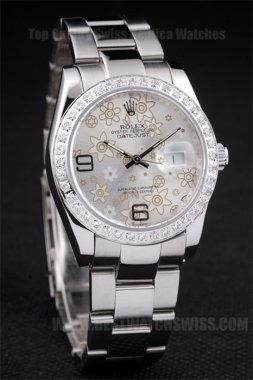 Rolex Datejust The Newest Ladies' stainless steel Replica Watches R4681