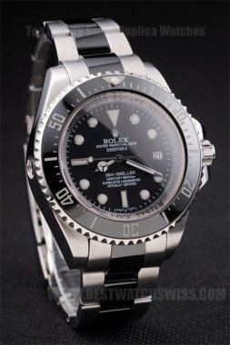 Rolex Deepsea 70% Off Men's Sapphire Crystal Replica Watches R306