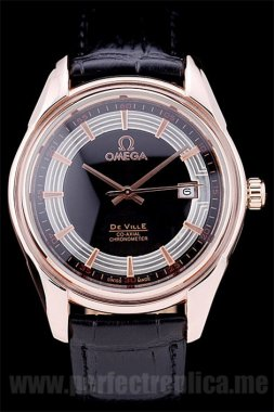 Omega Deville Best Value Automatic 44*35MM Replica Watches 4384