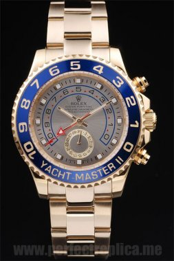 Rolex Yachtmaster II low prices Sapphire Crystal 48*42MM Replica Watches rl244