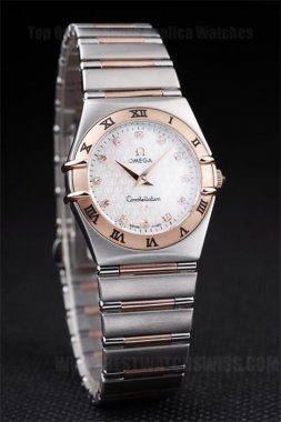 Omega Constellation 60% Off Ladies' Sapphire Crystal Replica Watches Om4474