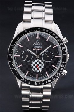 Omega Speedmaster AAA+ Men's Stainless Steel Replica Watches Om4508