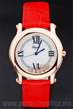 Chopard Most popular Red 40*35MM Replica Watches 3904