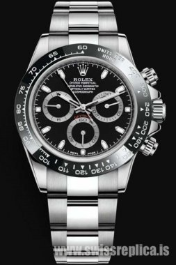 Rolex Daytona 116500LN-78590 Black Dial Machine Chronograph