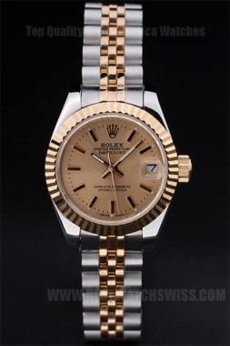 Rolex Datejust 90% Off Ladies' Sapphire Crystal Replica Watches R4736