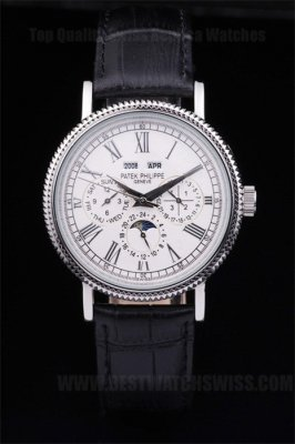 Patek Philippe Complicated Hot Sale Men's Sapphire Crystal Replica Watches PP4622