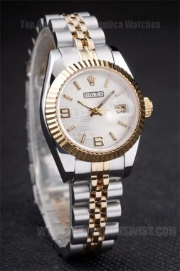 Rolex Datejust 75% Off Ladies' Sapphire Crystal Replica Watches R4731