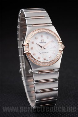 Omega Constellation Highest Quality Battery 26*25MM Replica Watches 4469