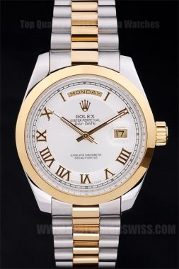 Rolex Daydate Good Men's Sapphire crystal Replica Watches R4820