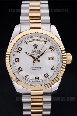 Rolex Daydate Hot Men's Automatic Replica Watches R4823