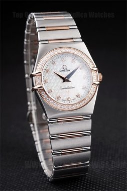 Omega Constellation Best Choice Ladies' Stainless Steel Replica Watches Om4466