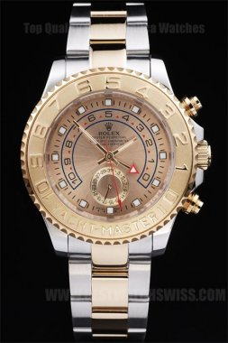 Rolex Yachtmaster II Low Prices Men's Sapphire Crystal Replica Watches R240