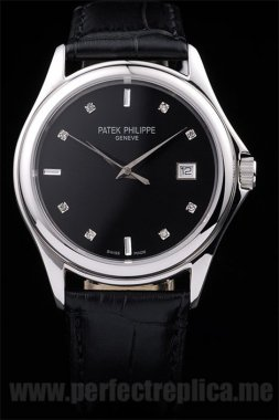 Patek Philippe Calatrava Swiss Sapphire Crystal 46*38MM Replica Watches 4628