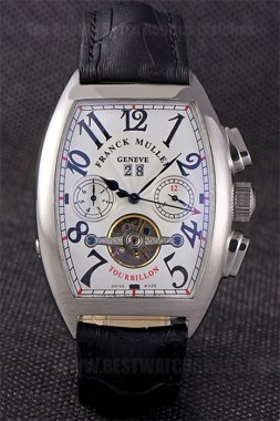 Franck Muller High Technology Men's Sapphire Crystal Replica Watches Fr80282