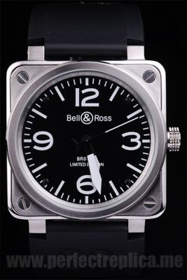 Bell & Ross Carbon Quality Automatic 45*46MM Replica Watches 3451