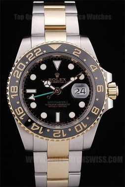 Rolex GMT Master 65% Off Men's Sapphire Crystal Replica Watches R37