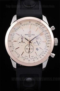 Breitling Navitimer Best Choice Men's 18k rose gold Replica Watches Br3607