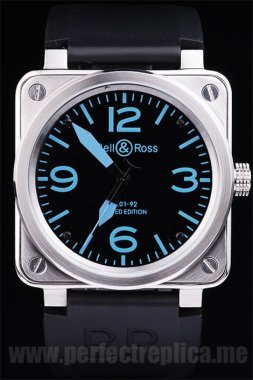 Bell & Ross Carbon The Hottest Automatic 44*44MM Replica Watches 3452
