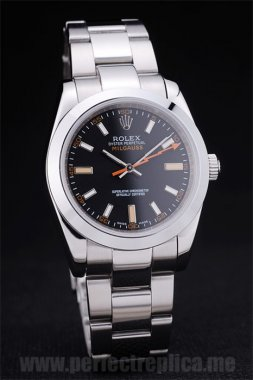Rolex Milgaus Top Seller Sapphire Crystal 40*36MM Replica Watches srl155