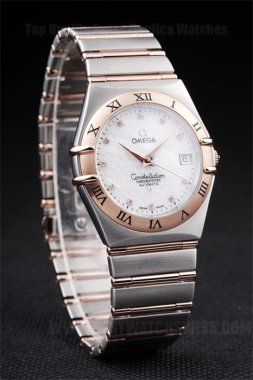 Omega Constellation 70% Off Men's Sapphire Crystal Replica Watches Om4487