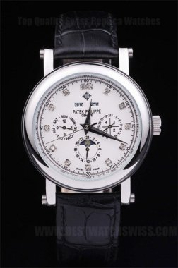 Patek Philippe Complicated Luxury Men's Stainless Steel Replica Watches PP4620