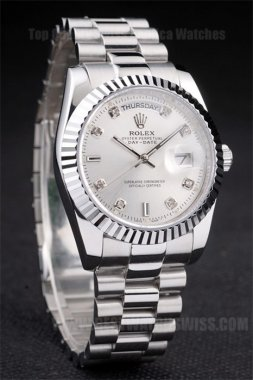 Rolex Daydate Great Men's stainless steel Replica Watches R4797