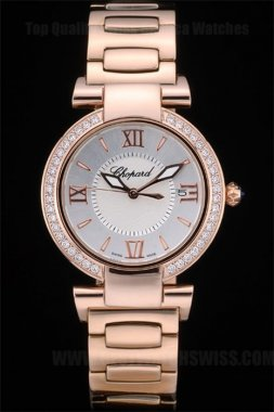 Chopard Best Ladies' Sapphire Crystal Replica Watches Ch80273